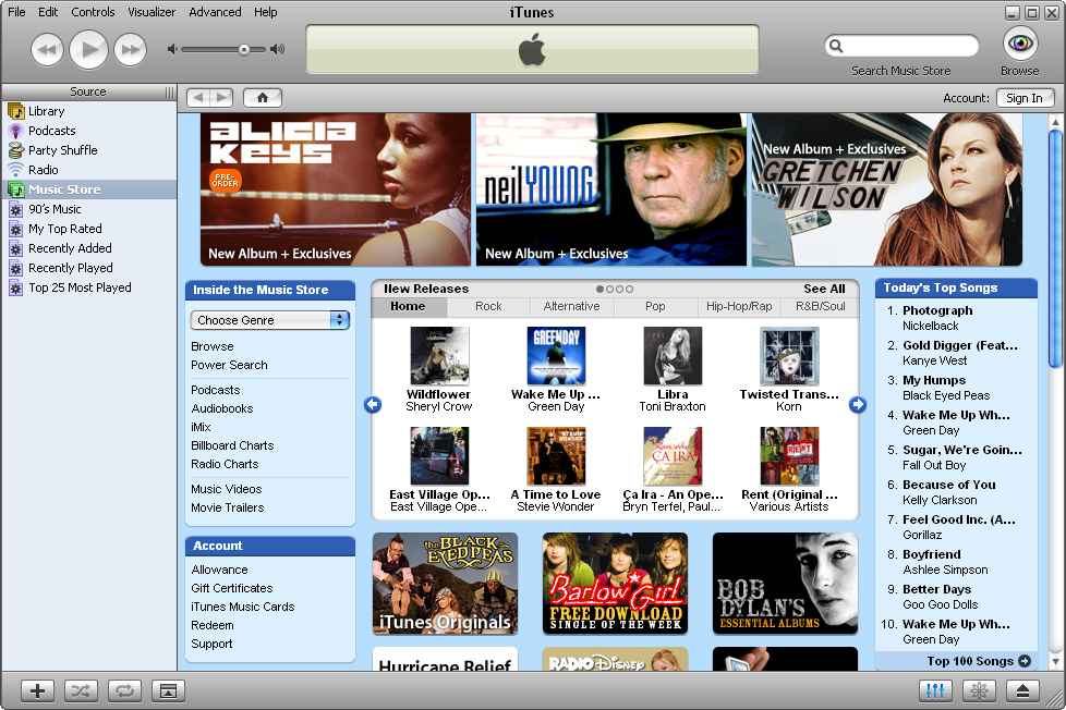 how to play a cd in itunes