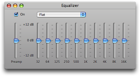 Equalizer Mac