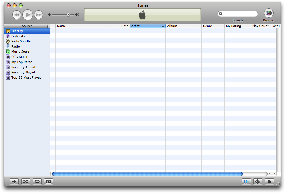 how to delete a playlist on itunes and library