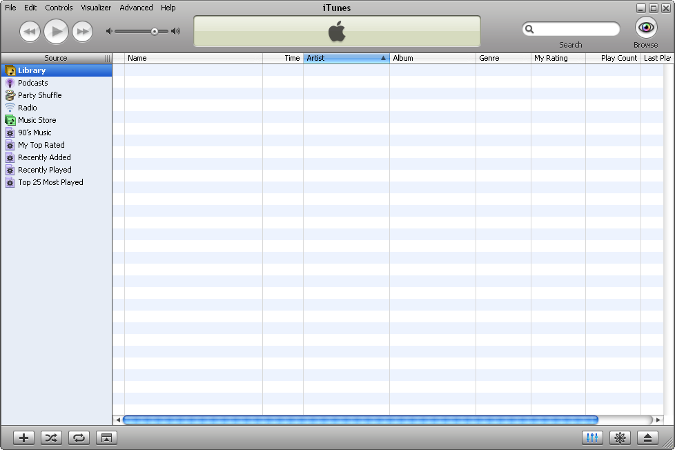 how to get apps in itunes library