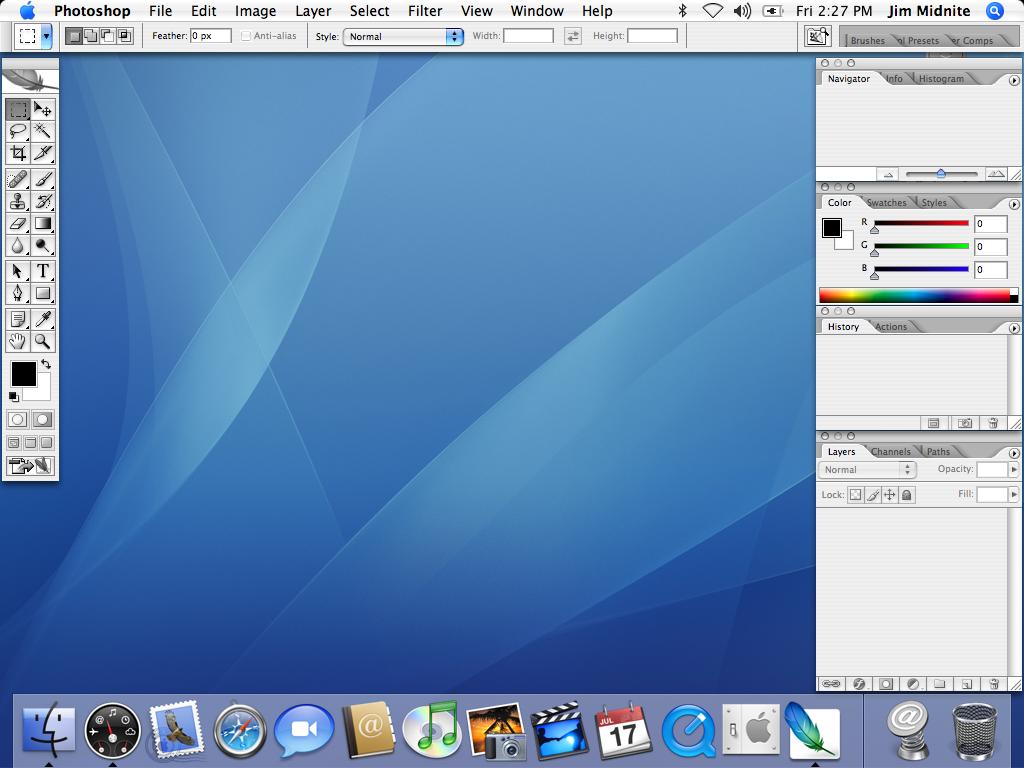 Программа photoshop для mac
