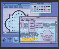 Photo 6: Open Windows, from Sun Microsystems, features the Open Look interface, which provides several enhancements to the classic windows, icons, and pull-down menus interface.
