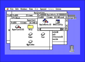 Apple IIGS System Software icons
