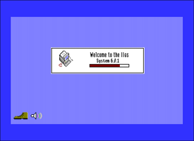 Apple IIGS System Software loading