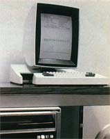 More than 1200 of the experimental Alto, developed in 1973 by the Xerox Palo Alto Research Center, were distributed to test its windows, menus, and mouse.
