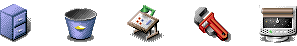 Icons from Amiga OS 3.5
