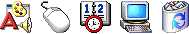 Icons from Windows 2000