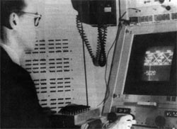 Ivan Sutherland, shown with his archetypical graphics system, Sketchpad, is considered the father of interactive graphics.