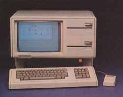 Photo 1: The Lisa computer system.