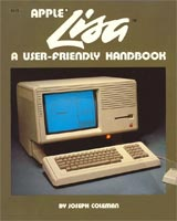 """Apple Lisa: A user friendly handbook"" front cover"