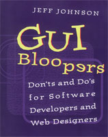 """GUI Bloopers"" front cover"