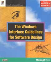 """The Windows Interface Guidelines for Software Design"" front cover"