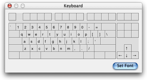 Keyboard map in Mac OS X DP 3 (Keyboard)