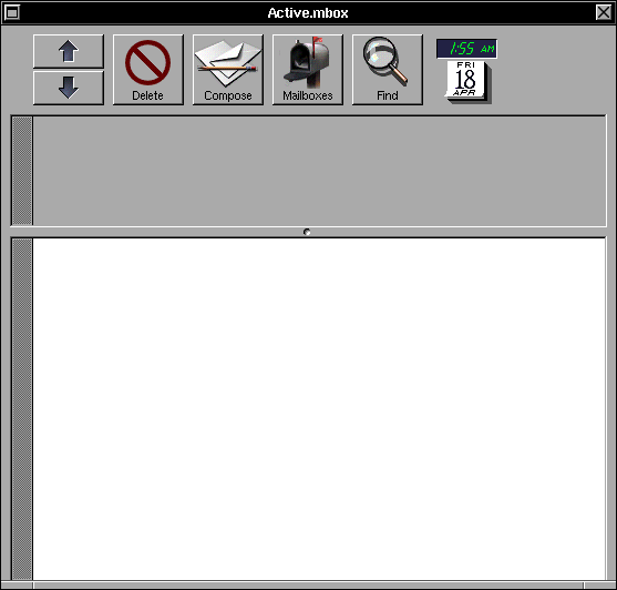 Mail in OPENSTEP 4.2 (Mail)
