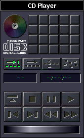 CD player in OPENSTEP 4.2 (CD Player)
