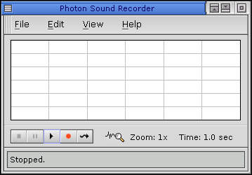Sound in QNX 6.2.1 NC (Photon Sound Recorder)