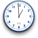 Clock in Mac OS 10.1 (Clock)