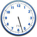 Clock in Mac OS X Jaguar (Clock)