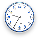 Clock in Mac OS X DP 4 (Clock)