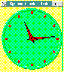Clock in OS/2 2.1 (System Clock)