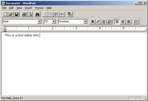 wordpad 2003
