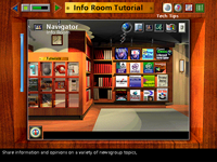 One of the tutorials in Packard Bell Navigator 3.9