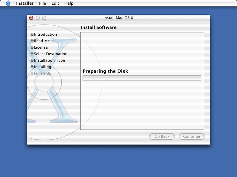 File copying in Mac OS X Jaguar