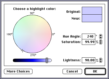 Colour selector in System 7.5.3