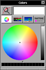 Colour selector in OPENSTEP 4.2