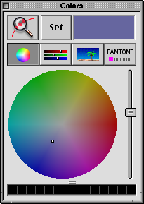 Colour selector in Rhapsody DR2