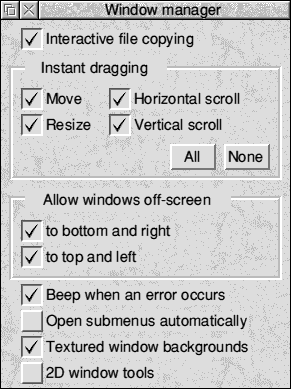 Appearance in RISC OS 3.7 (Window manager)