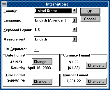 International in Windows 3.0 (International)