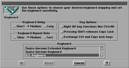 Keyboard in GeoWorks Ensemble 2.0 (Keyboard)