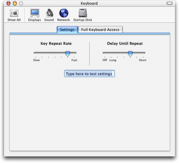 Keyboard in Mac OS X Jaguar (Keyboard)