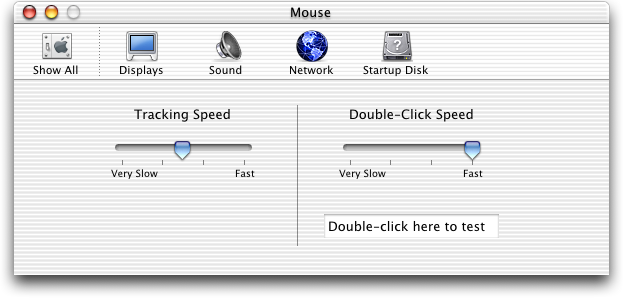 Mouse in Mac OS 10.0.4 (Mouse)