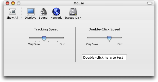 Mouse in Mac OS 10.1 (Mouse)