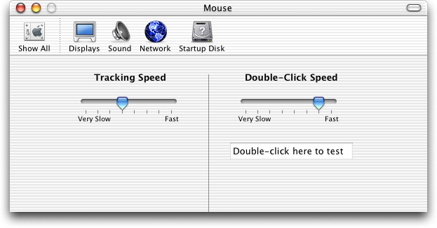Mouse in Mac OS X Jaguar (Mouse)