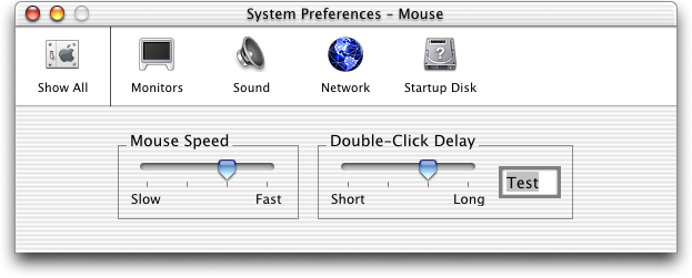 Mouse in Mac OS X Public Beta (Mouse)