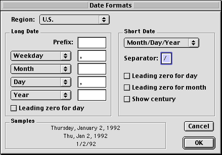 Time and date in Mac OS 9.0 (Date Formats)