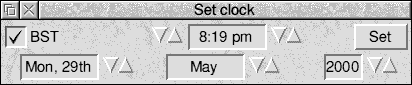Time and date in RISC OS 3.7