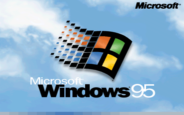 Welcome splash in Windows 95