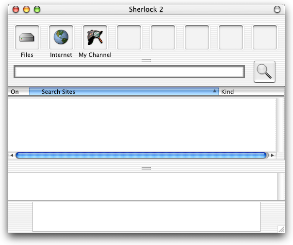 Search in Mac OS X DP 3 (Sherlock)