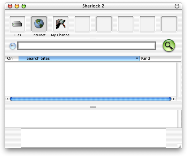 Search in Mac OS X DP 4 (Sherlock)