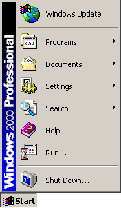 Application manager in Windows 2000 Pro