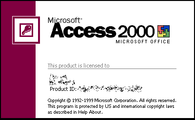 Access Splash Screen