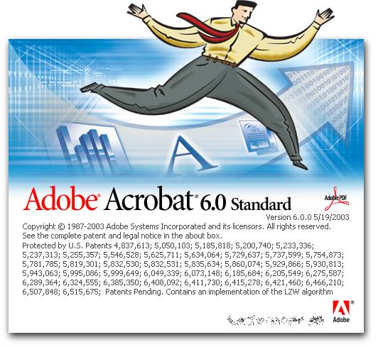 Adobe Acrobat v6.0 Standard