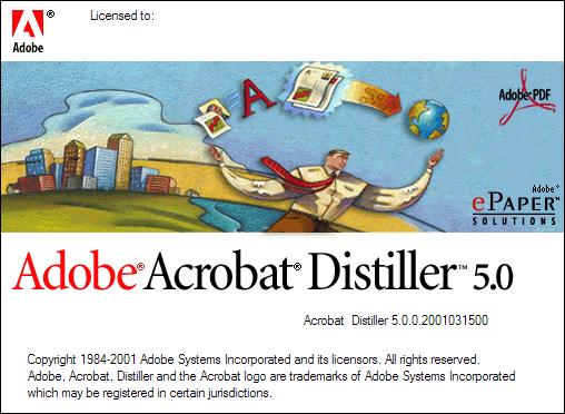 adobe acrobat distiller 5.0 full version free download