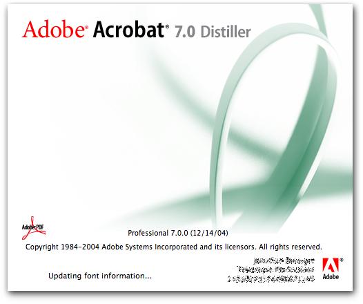 adobe 7.0 professional