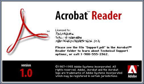 guidebook splashes acrobat reader