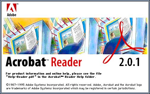 Capturas de los Acrobats Reader